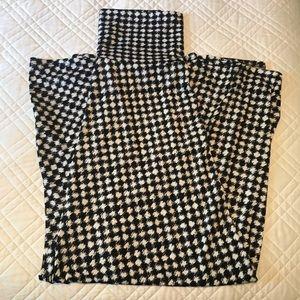 LuLaRoe Maxi Skirt Black and White